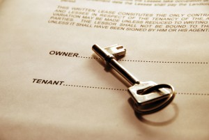 Key and tenancy agreement